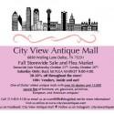 Antiques Flea Market at City View Antique Mall!