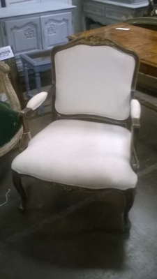 15K14021 PARTIAL GILT LOUIS XV FAUTEUIL (1).jpg