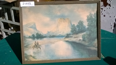 15K24948 PICTURE OF 2 INDIANS ON HORSES IN WATER.jpg