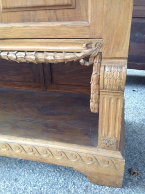 14C06020 OAK LOUIS XVI SIDEBOARD.JPG