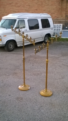 15L21006 PAIR OF BRASS CANDLEABRAS (3).jpg