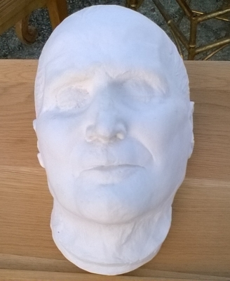 15L21001 DEATH MASK OF POE PIUS II