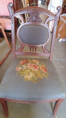 14D14109 TURN OF THE CENTURY CHAIR