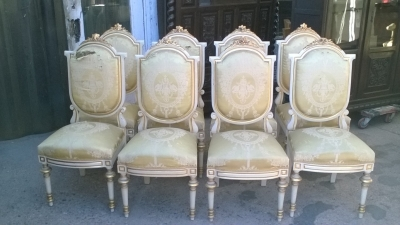 16A10007 SET OF 8 SPANISH LOUIS XVI STYLE CHAIRS (1).jpg
