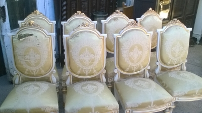 16A10007 SET OF 8 SPANISH LOUIS XVI STYLE CHAIRS (2).jpg