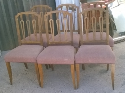 16B02007 SET OF 6 REGENCY STYLE CHAIRS (1).jpg
