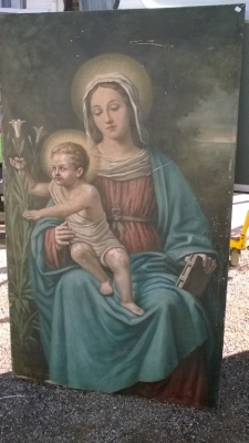 16B02008 PAINTING OF MADONNA AND CHRIST (1).jpg