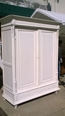 16B02014 2 DOOR PAINTED FRENCH ARMOIRE.jpg