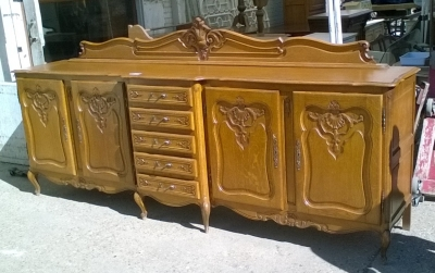 16B02024 LONG COUNTRY FRENCH SIDEBOARD WITH ORANGE FINISH (2).jpg