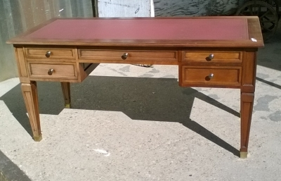 16B02027 MAHOGANY DESK WITH LEATHER TOP (1).jpg