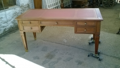 16B02027 MAHOGANY DESK WITH LEATHER TOP (2).jpg