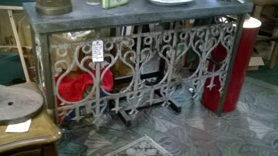 36-84926 IRON CONSOLE MADE FROM ANTIQUE GATE (1).jpg