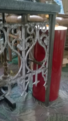 36-84926 IRON CONSOLE MADE FROM ANTIQUE GATE (3).jpg