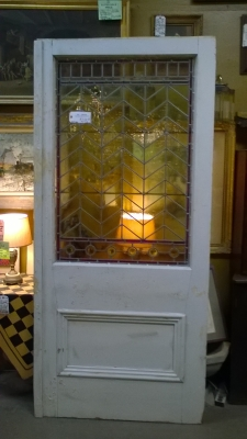 16B02038 PAIR OF LARGE STAINED GLASS DOORS (1).jpg