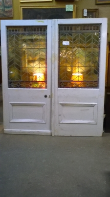 16B02038 PAIR OF LARGE STAINED GLASS DOORS (3).jpg