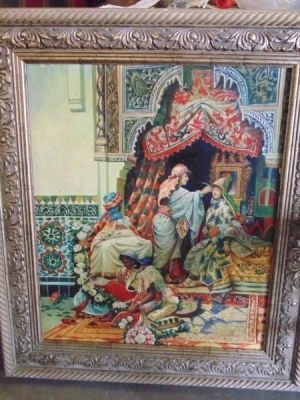 13K18130 HAREM OIL PAINTING (2).JPG
