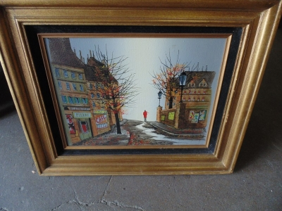 13K18302 ITALIAN OIL OF MAN IN STREET.JPG