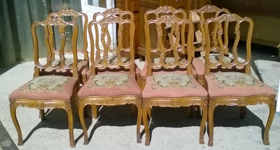 16C04017 SET OF 8 HIGHLY CARVED LIERS COUNTRY FRENCH OAK CHAIRS (1).jpg
