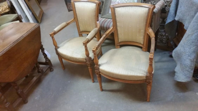 16C03 PAIR OF FRENCH LOW ARM CHAIRS.png