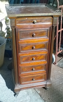 16C03010 MARBLE TOP NIGHT STAND WITH DRAWERS (1).jpg