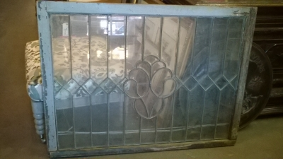 16C03025 LARGE LEADED GLASS WINDOW.jpg