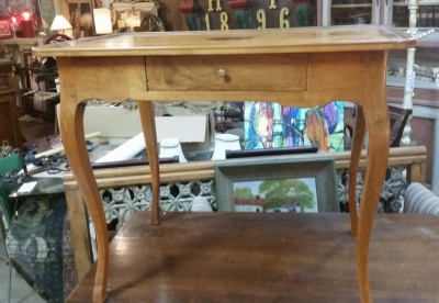 16C04036 FRENCH INLAID SINGLE DRAWER TABLE.jpg
