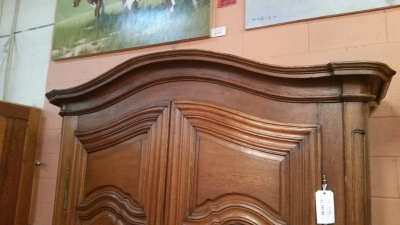 16C04063 EARLY DUTCH OAK ARMOIRE (5).jpg