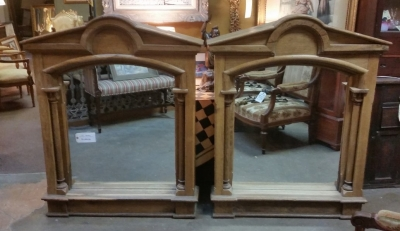 16C04083 PAIR OF RUSTIC ARCHED MIRRORS.jpg