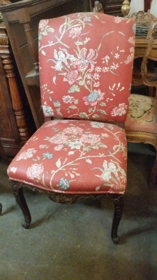 16C04094D LOUIS XV RED FABRIC CHAIR (1).jpg