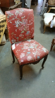 16C04094D LOUIS XV RED FABRIC CHAIR (2).jpg