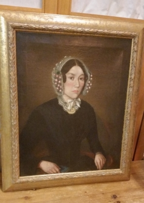 36-EARLY PAINTING OF A WOMAN.jpg