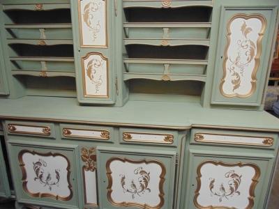 13j05003 painted vasilier with clock (4).JPG