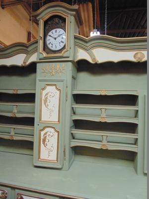 13j05003 painted vasilier with clock (5).JPG