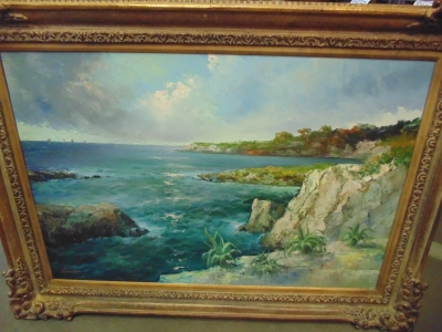 13L02181 LARGE SEASCAPE OIL PAINTING (2).jpg