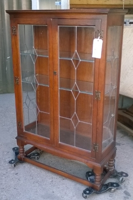 16C19002 ENGLISH OAK AND GLASS DISPLAY CASE.jpg