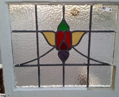 16C19197 STYLIZED ROSE STAINE GLASS WINDOW.jpg