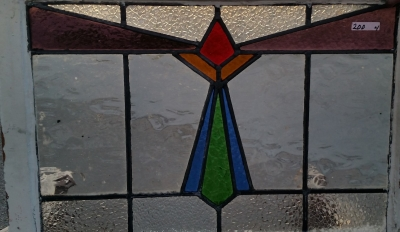 16C19200D LARGE GEOMETRIC STAINED GLASS WINDOW (2).jpg