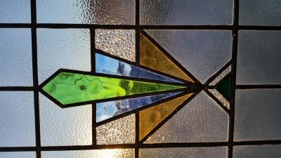16C19208A LARGE ART DECO STAINED GLASS WINDOW (2).jpg