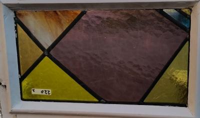 16C19220B SMALL GEOMETRIC STAINED GLASS WINDOW.jpg
