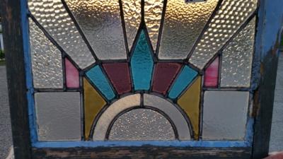 16C19222 FOUR PIECE DECO STAINED GLASS WINDOW SET (2).jpg