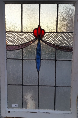 16C19226 VERICAL FLOWER WITH SWAGS STAINED GLASS WINDOW.jpg