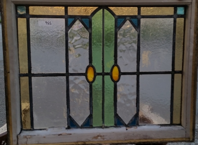 16C19229 GEOMETRIC WITH OVALS STAINED GLASS WINDOW (1).jpg