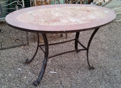 16C21100 OVAL METAL AND MOSAIC TOP TABLE (1).jpg
