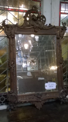 16C23954 LOUIS XV ORNATELY FRAMED MIRROR (1).jpg