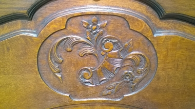 16C LOUIS XV OAK MIRROR (2).jpg