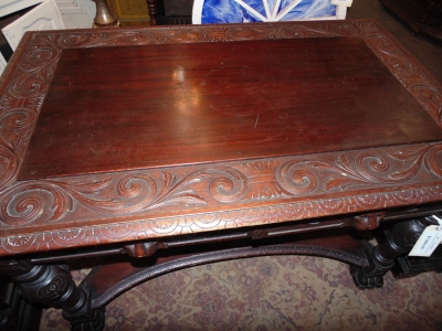 13L17031 CARVED LIBRARY PARTNERS DESK (2).JPG