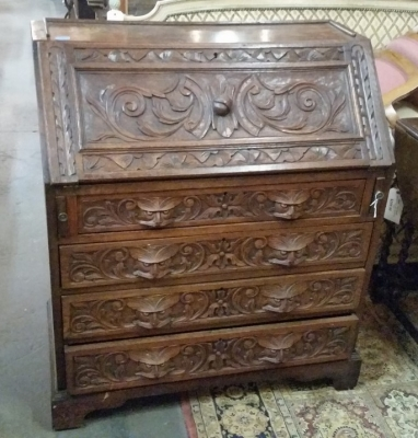 16C07 CARVED FRENCH SECRETARY.jpg