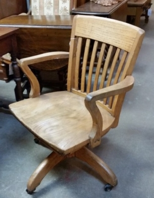 16C30  OAK OFFICE CHAIR.jpg