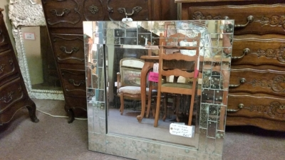 16C30 ANTIQUED MODERN MIRROR (1).jpg