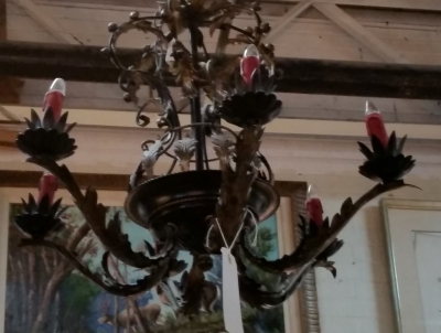16C31 IRON AND LEAF 6 LIGHT CHANDELIER.jpg